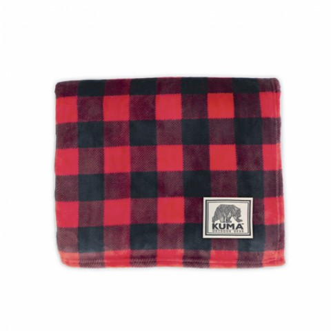 Huntly Plaid Throw