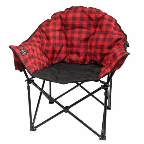 Red Lazy Bear Chair