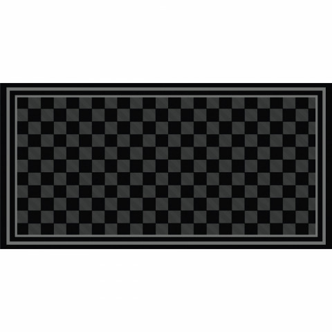 Checker Outdoor Mat - 18' x 9'