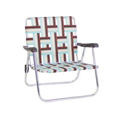 Blue Backtrack Low Chair