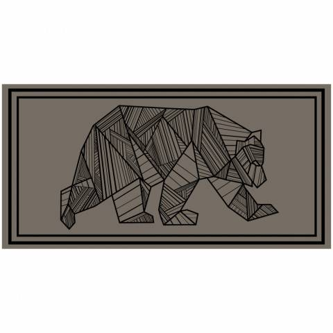 Bear Outdoor Mat - 18' x 9'