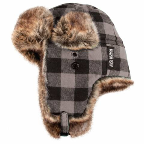Brown Fur Trapper Cap