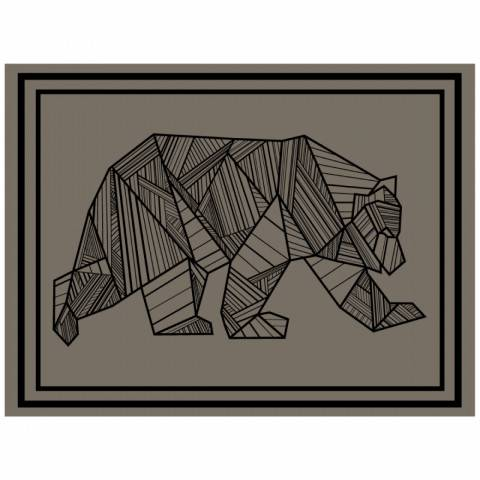 Bear Outdoor Mat - 12' x 9'