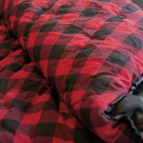 Red And Black Checkered Tonquin Sleeping Bag
