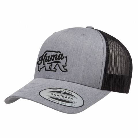 2-Tone Grey Embroidered Hat