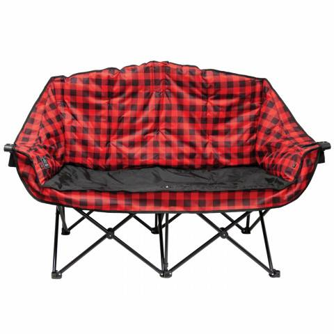 Red Double Lazy Bear Heated Chair