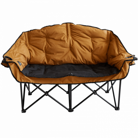 Sierra & Black Double Camping Chair