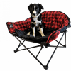 Red Lazy Dog Bed